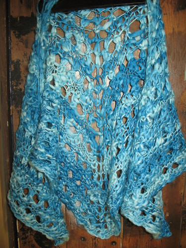 shawl in Cocoon, from HP