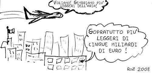 Alitalia 2008 - vignettina