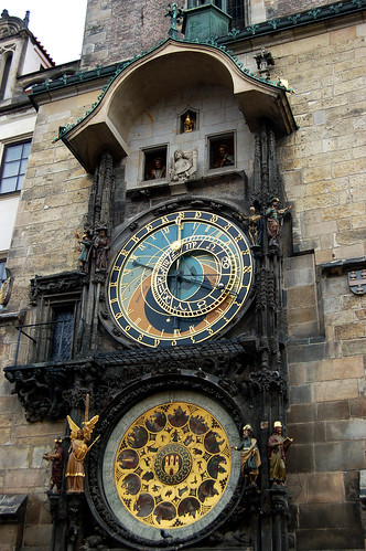 Prague_AstronomicalClockinAction