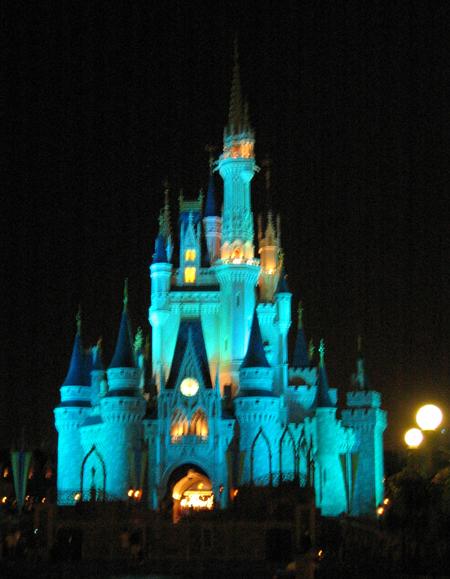 Cinderella's Castle (Click to enlarge)