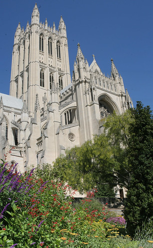 National Cathedral from the Bishop's Garden