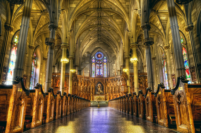 Main Cathedral / Central nave of Old St Patricks