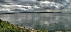 The Steel City (G.Doyle) Tags: panorama ontario clouds steel hamilton stitched hdr factories