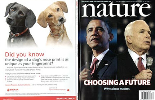 Obama and McCain - Nature