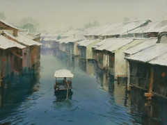The water village in South China,SOLD