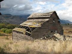 Ruins of Haynes Ranch - south Okanagan