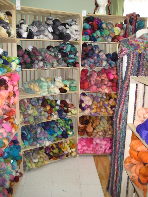 Inside CT Yarn and Wool