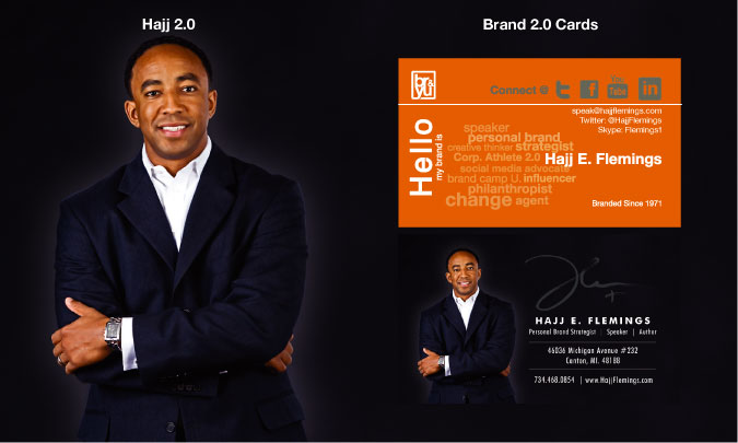 Brand 2.0 Business Card