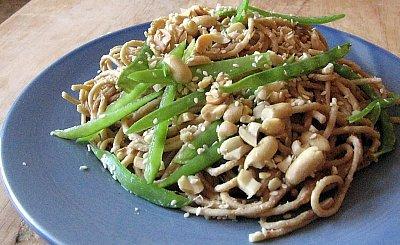 Hummus Sesame Noodles