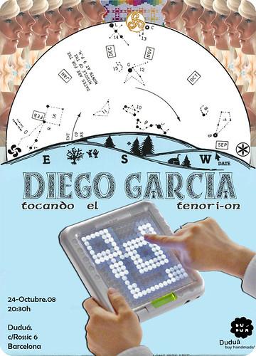 Diego Garcia tocando el tenori-on en Duduá