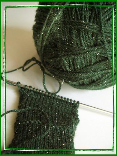 sparkle yarn!