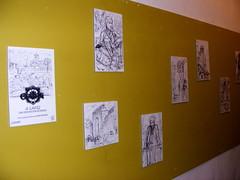 A LÁPIZ - bocetos de Raúlo para el juego CÓRDOBA de Reiner Knizia
