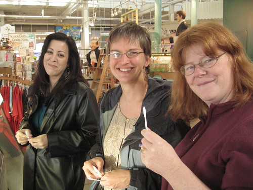 Jodi, Allison and Andrea at North Market