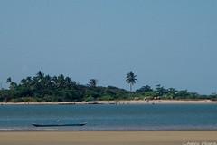 Blue on Blue (Moikanno Lost*) Tags: sea brazil sky nature gua azul brasil mar pessoas br natureza paisagem cu bahia criana ba canoa paisagens itacar duetos