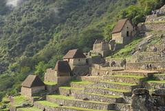 Storage Huts, Machu Picchu
