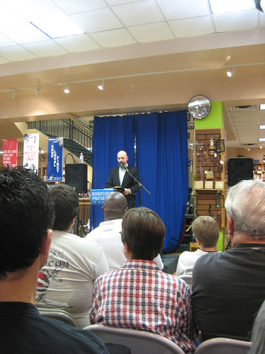 Neal Stephenson book fan photo