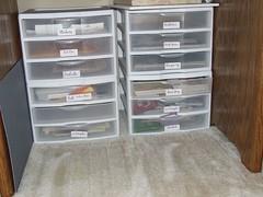 under the table (Jacki Marie Artist) Tags: castle storage organize