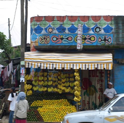 Al rico plátano. Addis Abeba (Etiopía)