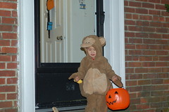 Trick or treating at home