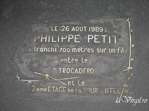 Philippe Petit Tribute - Eiffel Tower