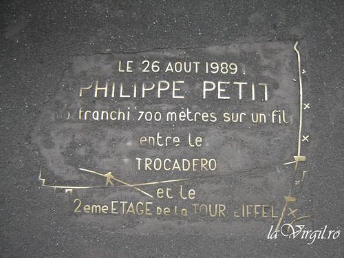 Philippe Petit Tribute - Eiffel Tower