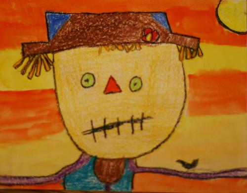 Arianna's scarecrow