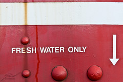 Fresh Water Only