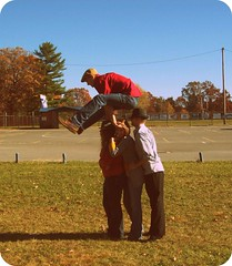 talent. (mumbaker) Tags: school autumn senior project matt jumping