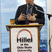 NPR broadcaster Scott Simon speaks at Hillel Foundation
