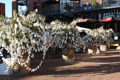 """Wish Tree for Pasadena"" by Yoko Ono at One Colorado Courtyard, 11-06-08 - 15 by you."