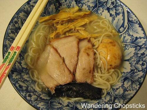 Shio (Japanese Salt) Ramen 1
