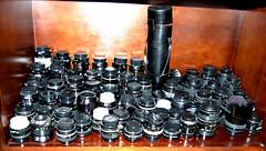 Camera Lens Porn (ScreaminScott) Tags: nikon lenses