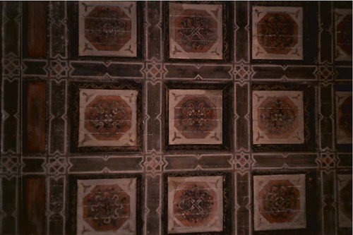 Variety Arts Center Building Lobby Ceiling, 1988