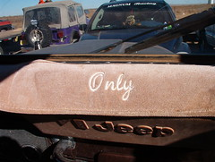 """""""Only"""" (ravensbo) Tags: jeep mud 4wd only roadrunner mudders onlyinajeep mudbogs dashmat"""
