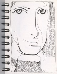 weller (andrea joseph's illustrations) Tags: portrait ink aj sketch drawing sketchbook paulweller andreajoseph andreajosephsillustrations
