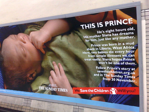 Prince and Save the Children