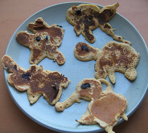 breakfast - pancake animals