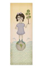 Salvemos al mundo de la deforestación. (yopuchero) Tags: pez digital arbol agua indigo nena pintura ecologia deforestacion cuidar salvar