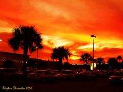 Red Sky in the Evening ! ¡Cielo rojo por la tarde! (stephgum32807) Tags: november sunset shopping blackfriday orlando florida shining☆star ¡cielorojoporlatarde