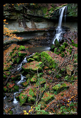 Welzheim waterfall - X (Ralph Oechsle) Tags: autumn creek waterfall welzheim