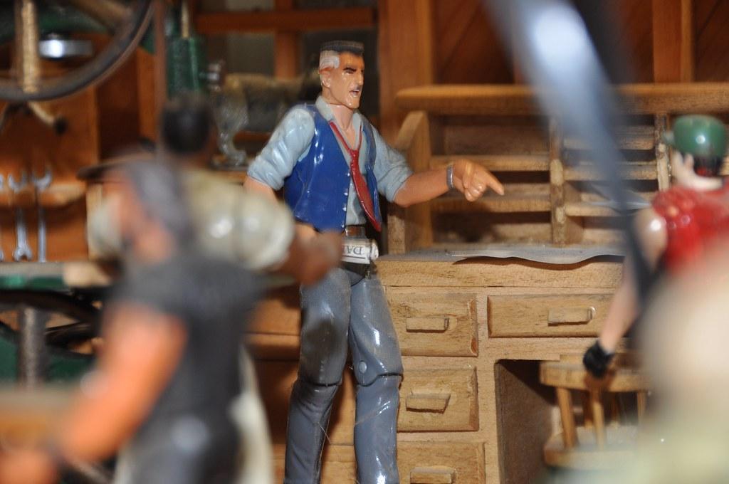 Curtiss Museum: model machine shop (J. Jonah Jameson)