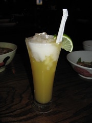 Kampuchea Restaurant: Pineapple coconut juice