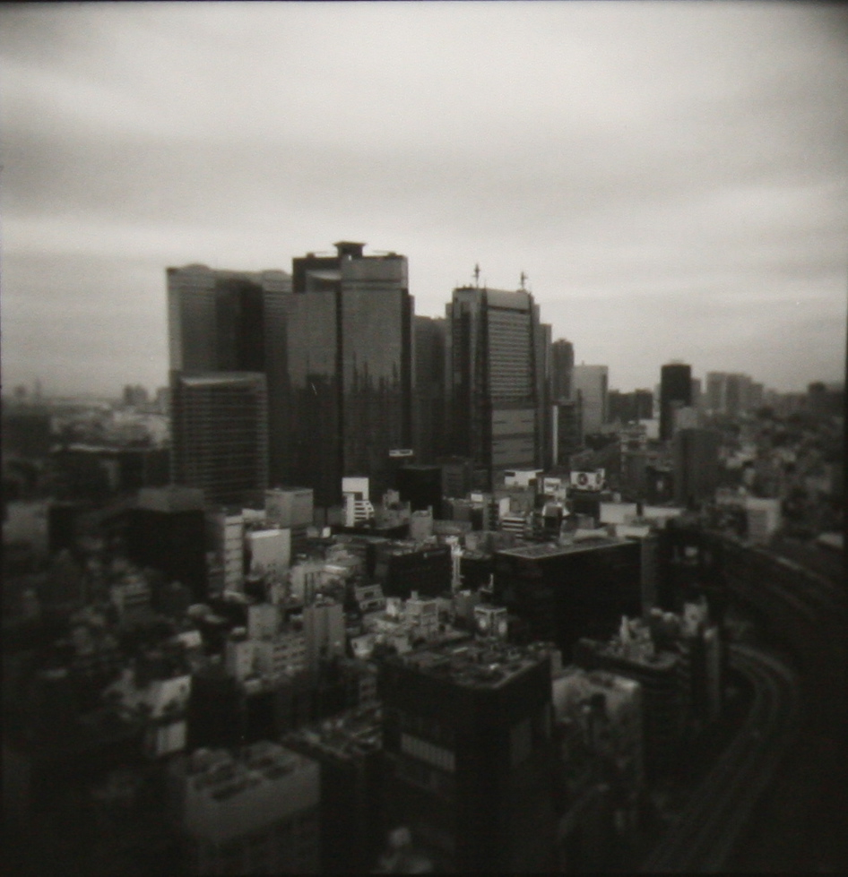 Tokyo from the hotel room.