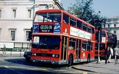 491-20 (Sou'wester) Tags: bus london buses trafalgarsquare publictransport titan lrt lt leyland b15 psv londontransport tfl londonregionaltransport 90loncen 90lonout