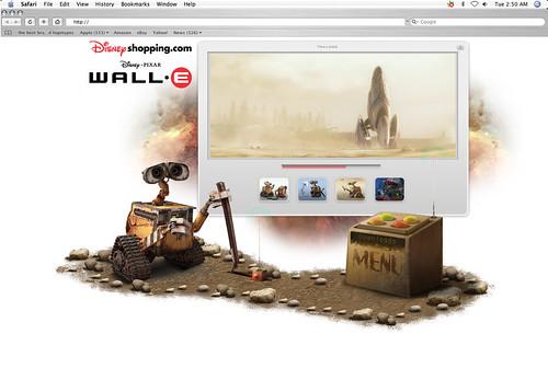 Wall•e Landing Page
