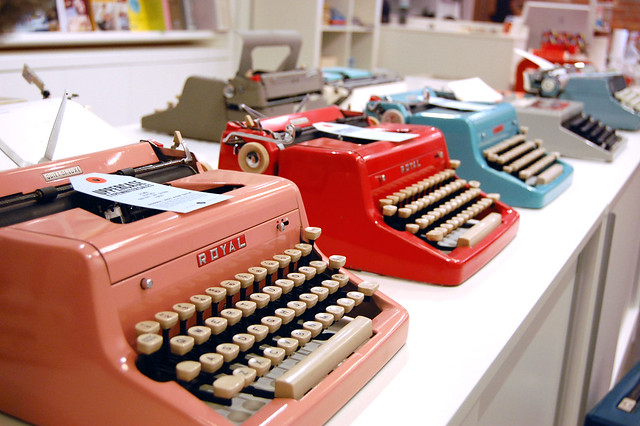 UPPERCASE Typewriter Event