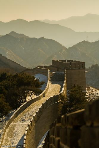 Great Wall at Badaling, China
