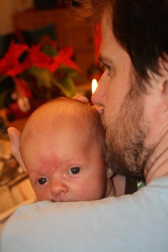 Ava och pappa adventsmyser