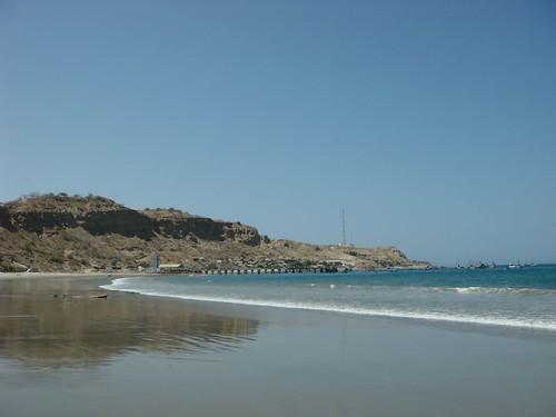 Máncora beach...