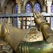 Bronze effigy, tomb of Edward The Black Prince (1330-1376), Canterbury Cathedral by chrisjohnbeckett